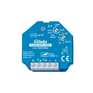 FUD61NPN-230V Funkaktor Universal-Dimmschalter 230V. Power MOSFET 300W