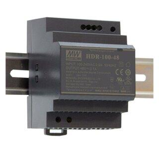 MWHDR10024 Schaltnetztei, Hutschiene, 100W,  24V DC, max. 3,8A