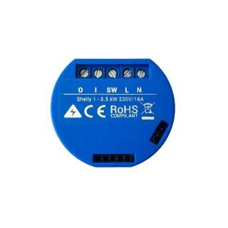 Shelly 1 universal Schaltaktor z.B. für Home Assistant, PioBox oder Homematic CCU3