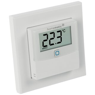 Homematic IP Temperatur / Luftfeuchtesensor mit Display, Bausatz !