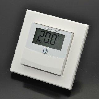 Homematic IP Temperatur- und Luftfeuchtigkeitssensor mit Display – innen HmIP-STHD