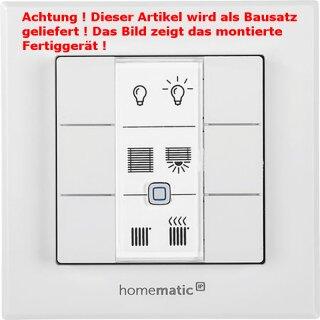 Homematic IP Wandtaster HMIP-WRC6 - 6 fach, Bausatz !