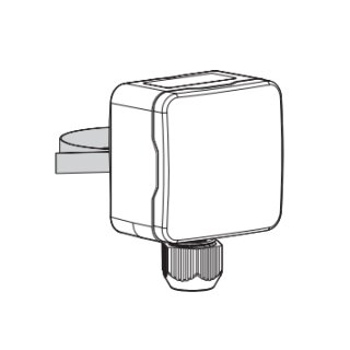Alpha 2 Taupunkt- / Feuchtesensor mit internem Sensor