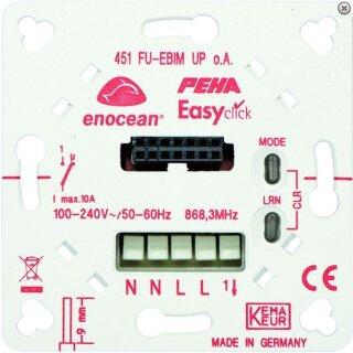 PEHA EnOcean Easyclickpro Jalousieaktor D 452 FU-EBIM  für Tasteraufsatz, BiDi