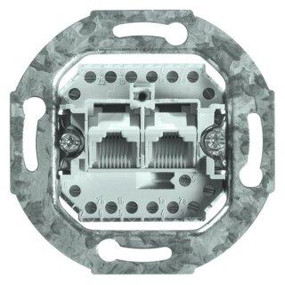 PEHA UP-Grundelement - Anschlussdose (ISDN 2-fach)