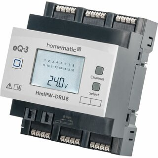 Homematic IP Wired 16-fach-Eingangsmodul HmIPW-DRI16