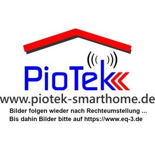 Homematic IP Rolladenaktor HmIP-BROLL incl. Gira 55 Wippe und Rahmen
