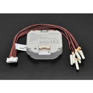 Homematic IP Kontakt-Schnittstelle Unterputz – 6-fach HmIP-FCI6