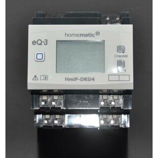 Homematic IP Schaltaktor für Hutschienenmontage 4-fach HmIP-K-DRSI4, Fertiggerät !