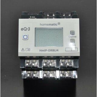 Homematic IP 4-fach Jalousie-/Rollladenaktor für Hutschienenmontage HmIP-K-DRBLI4 Fertiggerät !